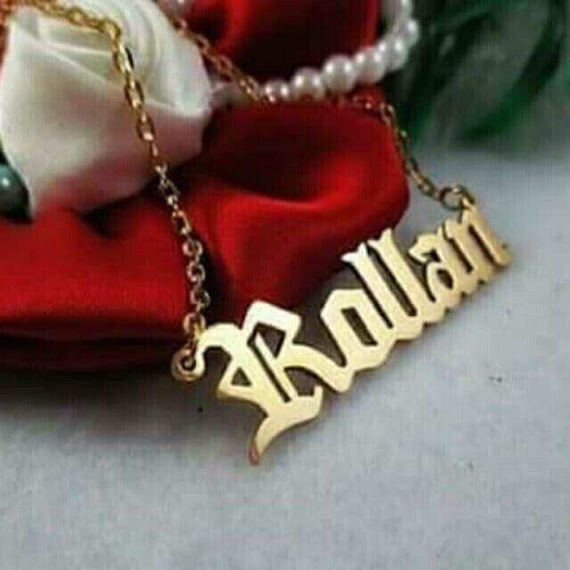 Temukan dan dapatkan Kalung Ukir Nama Bahan Kuningan Lapis emas hanya Rp 245.000 di Shopee sekarang juga! http://shopee.co.id/shafa_asesoris/132948778 #ShopeeID
