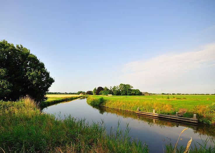 beautiful start of the day    Oostwold Scheemda, Netherlands