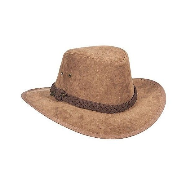 Safari Hats Callanan Saddle Brown, Women's ($30) ❤ liked on Polyvore featuring accessories, hats, brown, panama hat, safari hat, pattern hats, brown panama hat and print hats