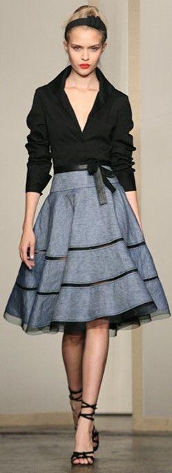 DKNY Fall 2013 ♥✤ | Keep the Glamour | BeStayBeautiful too cute! definitely something i would wear.