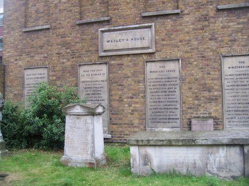 John Wesleys Home John Wesleys home on the City Road in London.