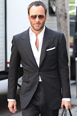 """Perfection. Seriously.  If you see a guy and say, """"damn, that man is so Tom Ford!"""" It's a compliment. Major."""