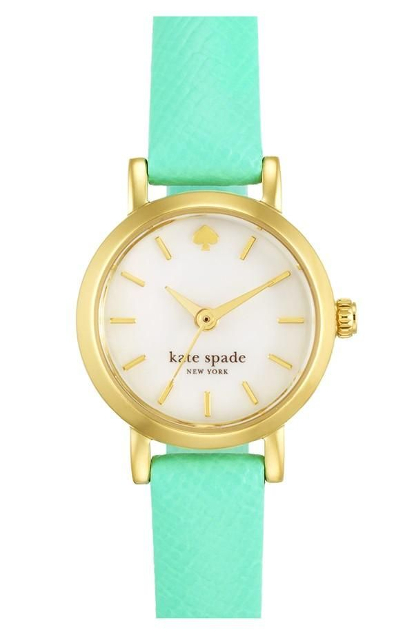Is it party time yet? Love this bright Kate Spade watch!