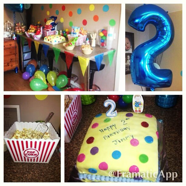 Mr Tumble's tea party for Jimmy's family party!