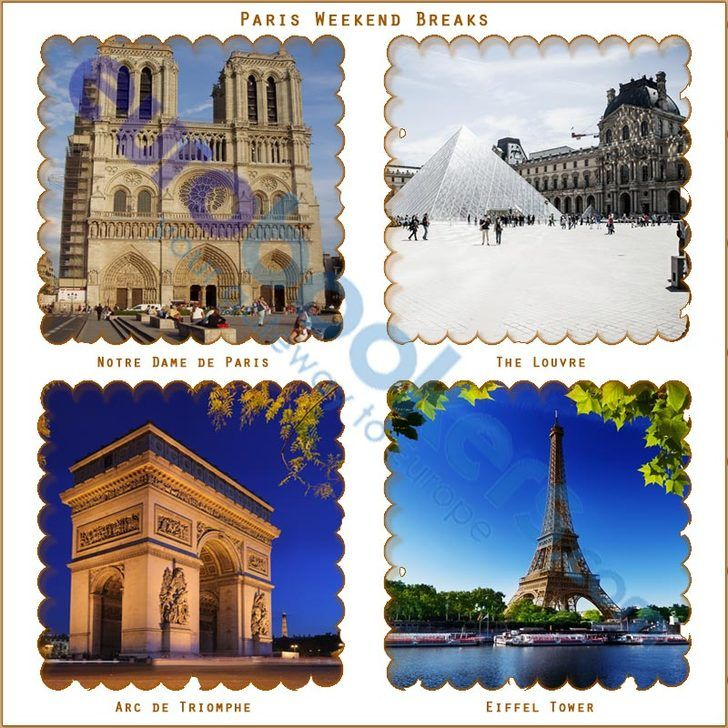 EuroBookers offering short breaks and cheap Paris holiday packages. Book your trip in Paris with Eurobookers and get big discount on every booking. Select the best deal from hundreds of great holiday deals to Paris. Book cheap short or city breaks to Paris or select great deals for weekend breaks to Paris.