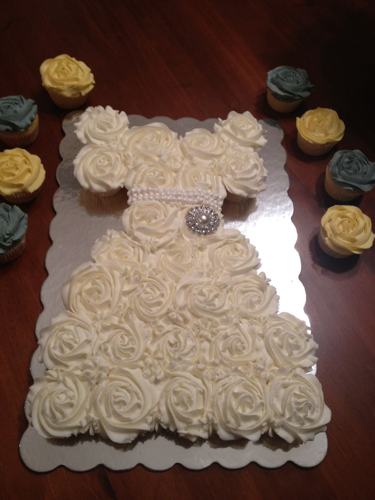 Wedding Dress Cupcakes Sweets Wedding Dress Cupcakes