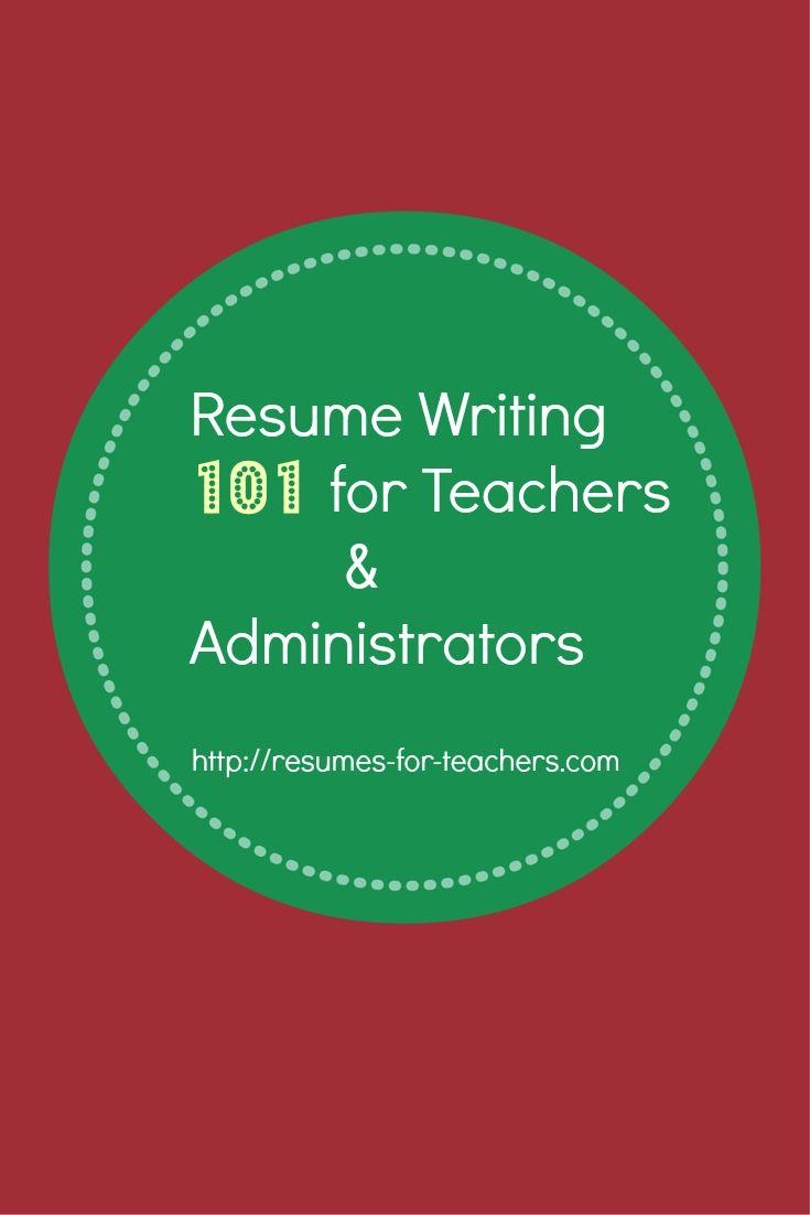resume    cv writing tips for teachers and school