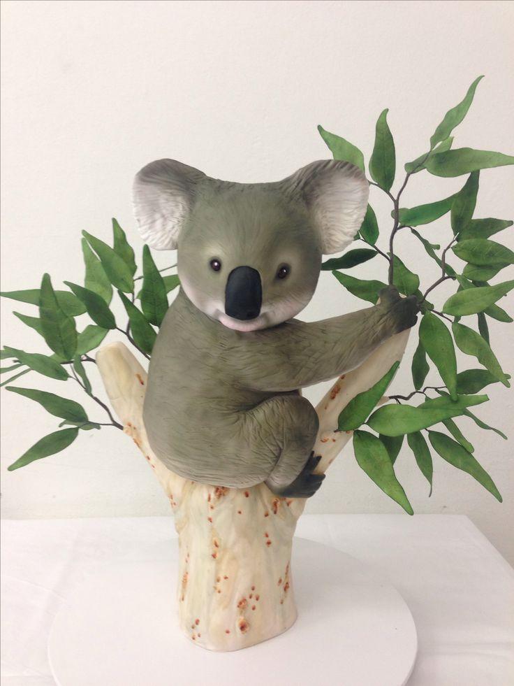 Koala Bear Birthday Cake