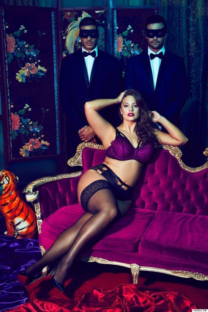 First Look: Ashley Graham X Addition Elle's Dark Beauty Collection http://thecurvyfashionista.com/2017/01/ashley-graham-lingerie/   Just in time for Valentine's  Day, Supermodel Ashley Graham returns with her latest plus size lingerie collection with Addition Elle, The Dark Beauty collection.