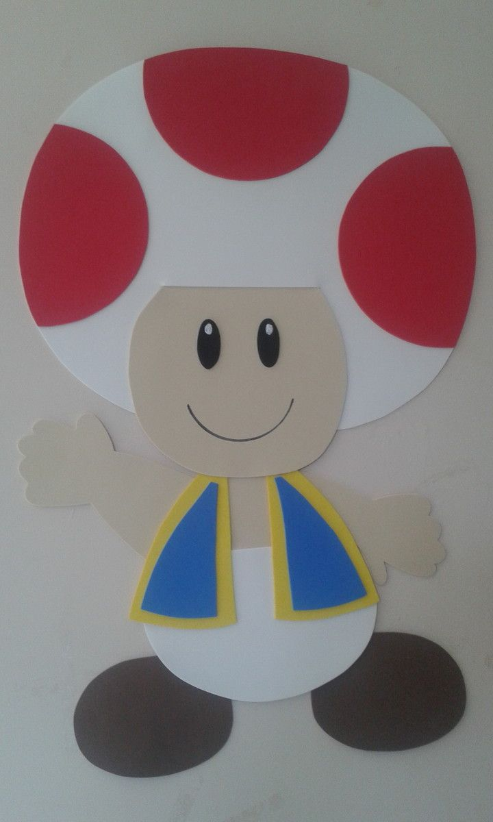 Toad do Super Mario em EVA.