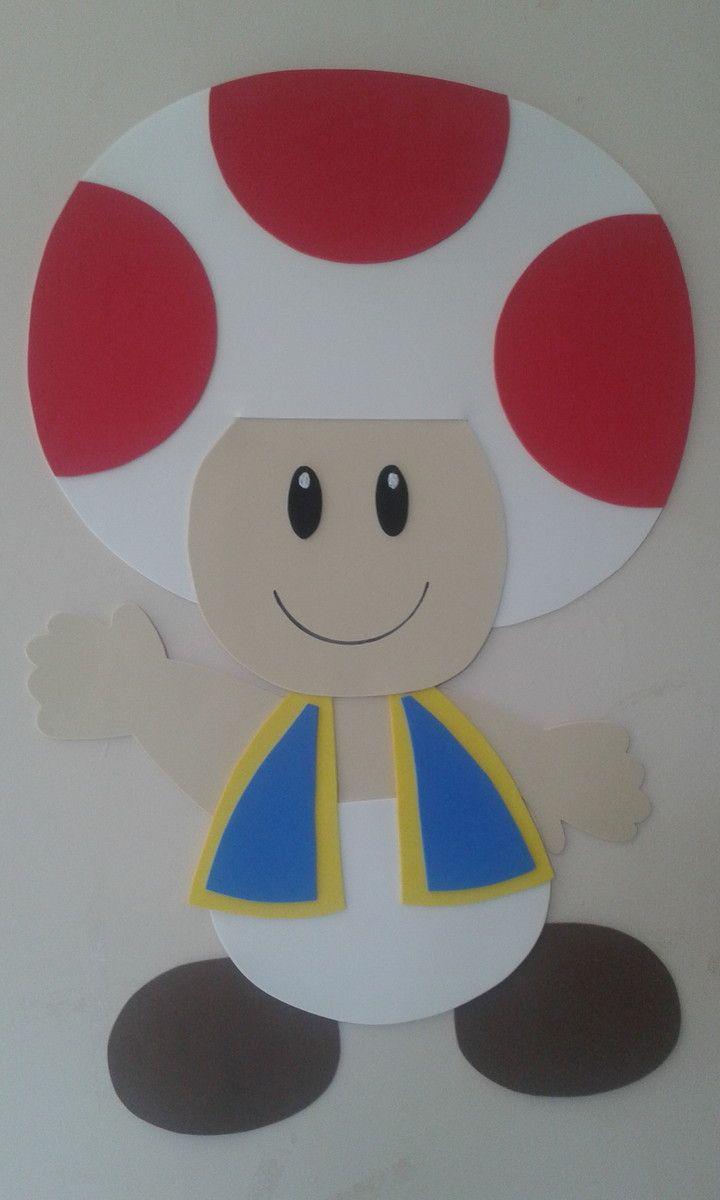 Toad do Super Mario em EVA.