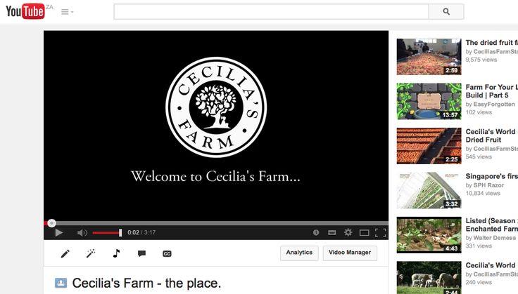 https://www.youtube.com/watch?v=2BgoaWDi6h4  #ceciliasfarm  www.ceciliasfarm.co.za
