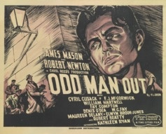 1947 'Odd Man Out' Original British Film Poster #vintageposters #vintageseekers