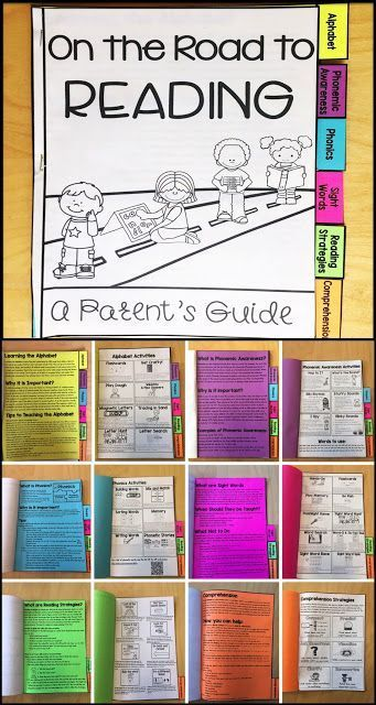 This parent reading guide is perfect for a family literacy night or Back-to-School night. This post also leads to links to even more information for teachers about each area.