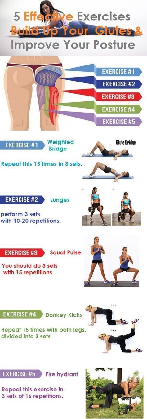 http://musclebuildingworkoutop.blogspot.com.co/ Build Up Your Glutes, Lose Weight and Improve Posture With These 5 Exercises