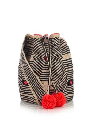 Lilla woven-cotton shoulder bag | Sophie Anderson | MATCHESFASHION.COM US