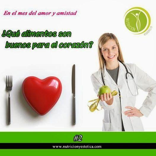 ¿Que alimentos son buenos para el corazón?