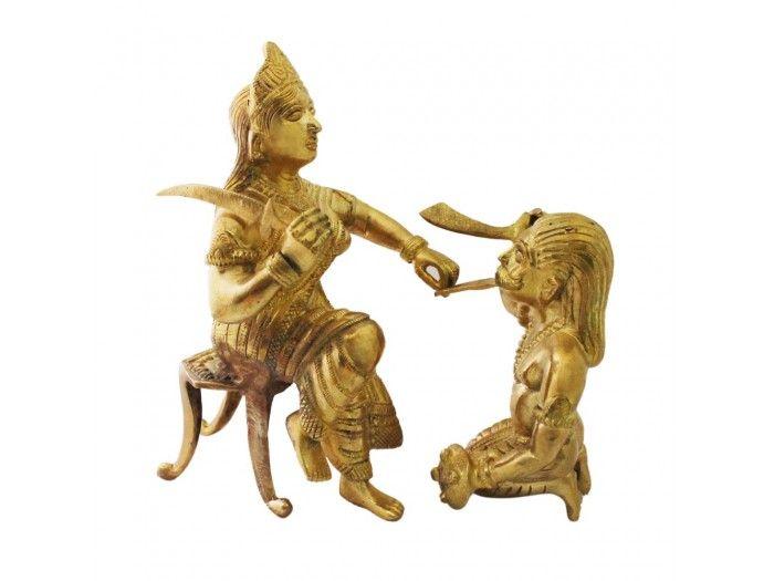 Bagalamukhi Statue Buy online from Vedic Vaani.