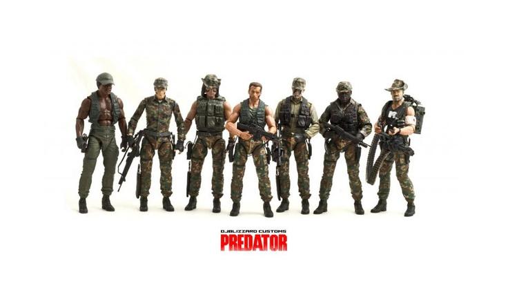 Predator Custom Action Figures