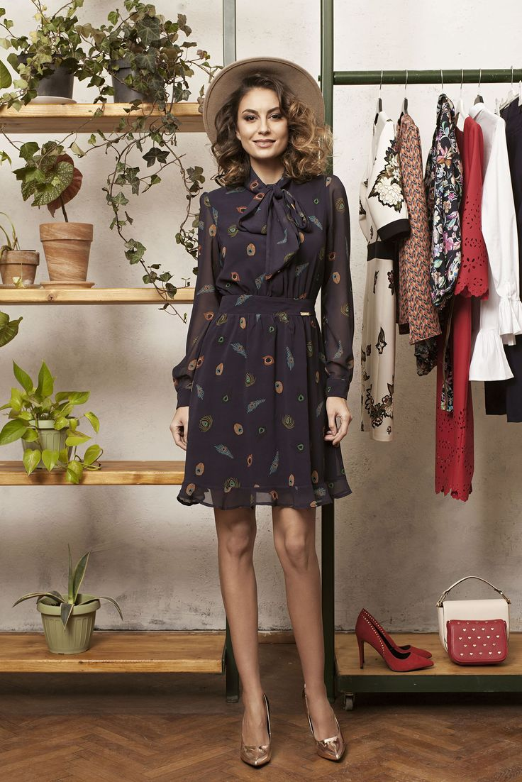 Comanda online, Rochie PrettyGirl Best Look DarkBlue. Articole masurate, calitate garantata!