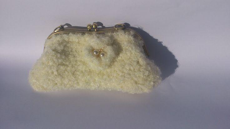 Crochet clowd purse LOVE IT !!!