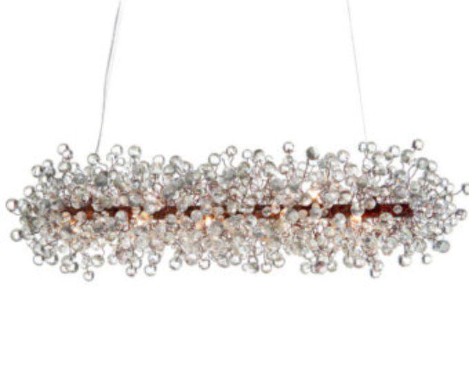 Plafond licht meubilair transparante duidelijk bubbels kroonluchter voor Dinning room, woonkamer of winkels