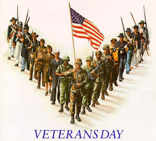 Happy Veterans' Day to all those who have worn the uniform, from 11 Magnolia Lane.