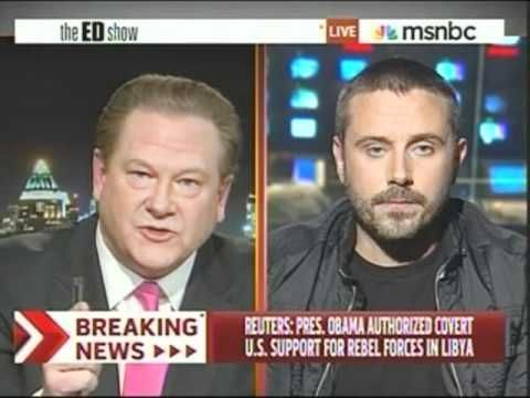 (136) Ed Schultz Gets Pounded Into The Ground On Libya By Jeremy Scahill - YouTube