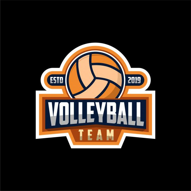 Volley Ball Logo Volleyball Volley Volleyball Team
