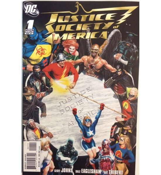 Justice Society of America 1 - 2007 #JusticeSociety #JSA #Earth2 #ComicsforSale #Comics #DCComics #Society #GeoffJohns