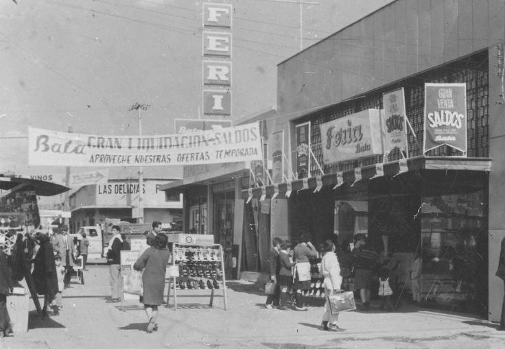 Santiago, Ca. 1966 Tienda Bata en antiguo formato Feria Bata, en Avenida Santa Rosa, comuna de La Granja. Aproximadamente paradero 22-23 de la mencionada avenida . #Bata #Batastores #TiendasBata #AvenidaSantaRosa #LaGranja #Orgullo