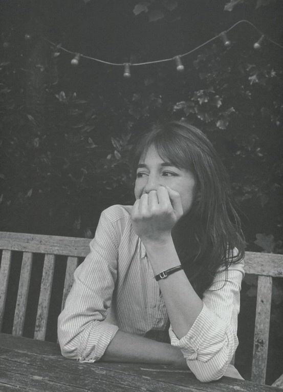 Charlotte Gainsbourg  photography Venetia Scott  styling Suzanne Koller