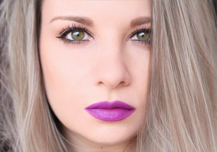 Violet It Up With MAC Heroine | RosyChicc