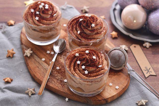 Dívány - Alapkonyha - Egyszerű ünnepi desszert: gesztenyés tiramisu pohárban