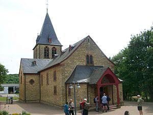 Ober-Hilbersheim: katholische Pfarrkirche