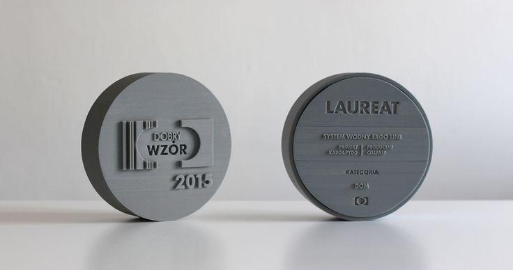 """Good Design 2015"": statuette design by Grynasz Studio for Institute of Industrial Design / 2015"
