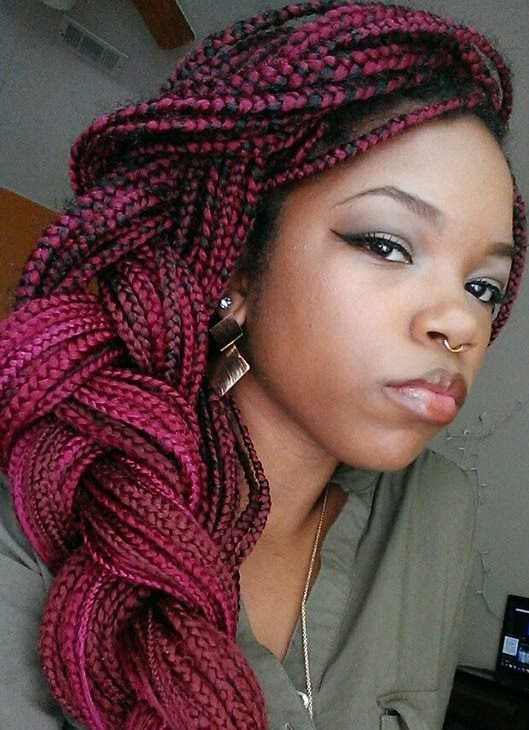 Top Trendy Box Braids Hairstyles 2015 Hairstyles 2015