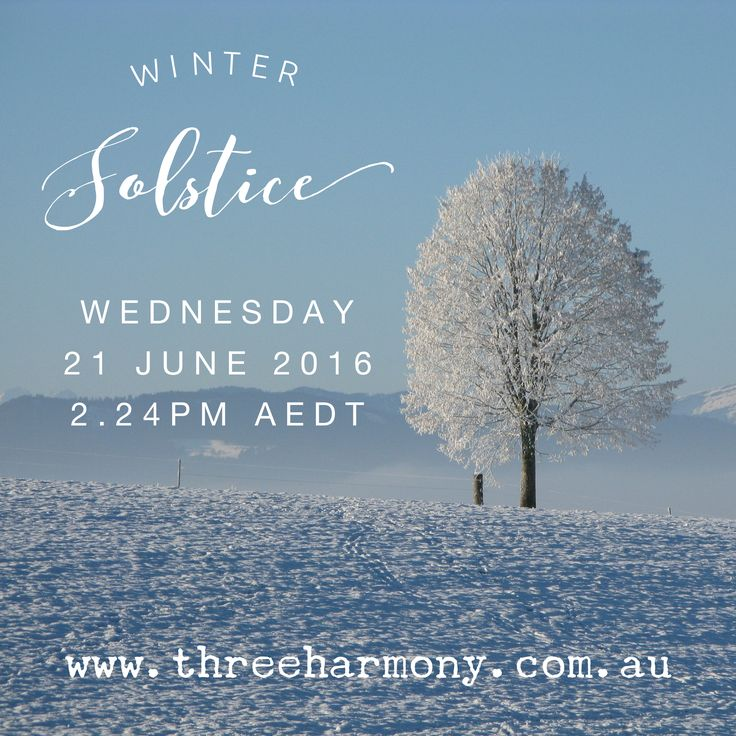 We've just passed Winter Solstice in the Southern Hemisphere. Want to know more about what you should do this season? Then check out this blog post!