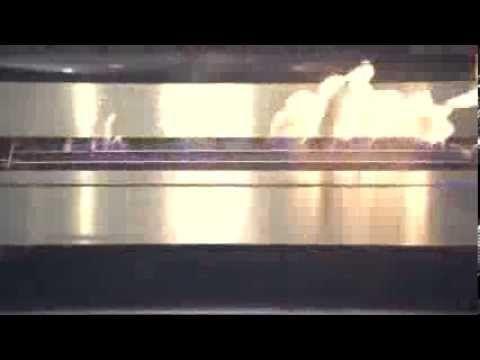 Bruleur Ethanol Télécommandé Automatique pour Cheminée Design, Foire de Milan internationale