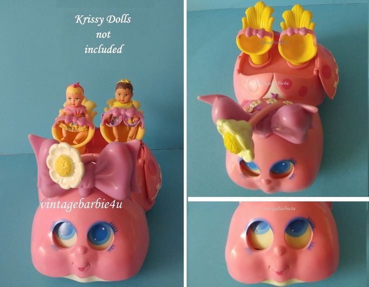 Rare Vintage 1985 BLINKINS Lady Buggy Car American Toy Co fits Krissy Doll size #AmericanToyCoLJN #CarBuggy
