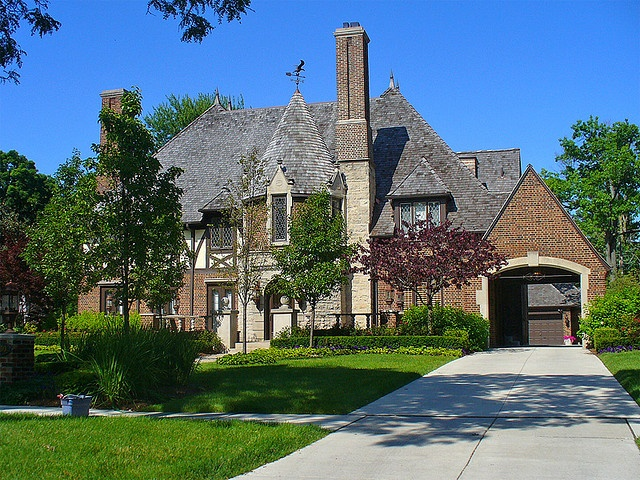 Beautiful Homes In Detroit Palmer Woods And Sherwood Forest