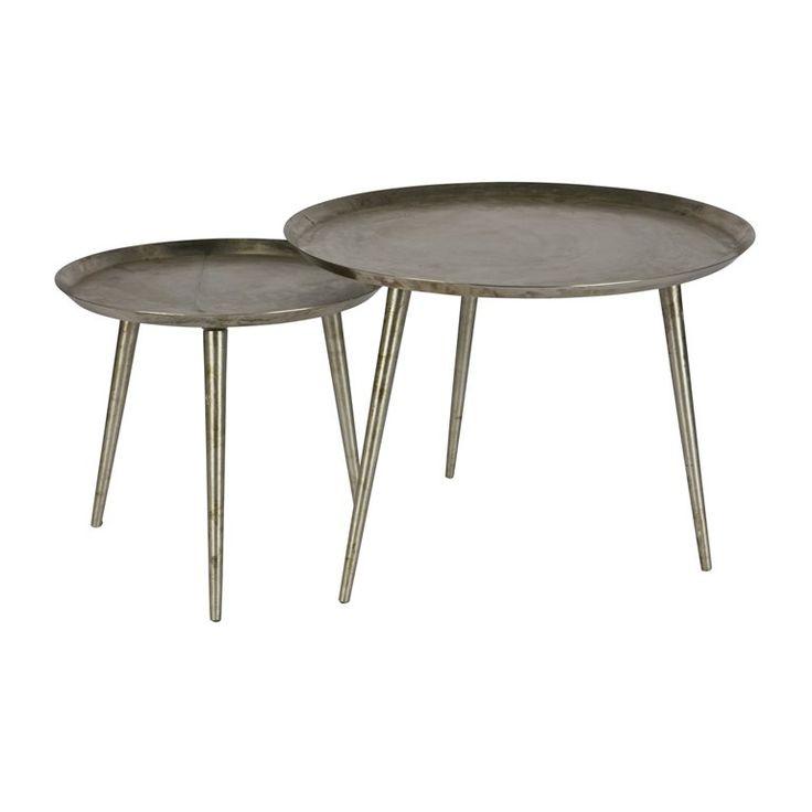 Verander jij vaak van woonstijl, maar wil je niet elke keer nieuwe meubels aanschaffen? Met de BePureHome Delight bijzettafel kan je alle kanten op qua styling. Deze metalen tafel past bijvoorbeeld heel goed in een bohemien of vintage woonstijl.