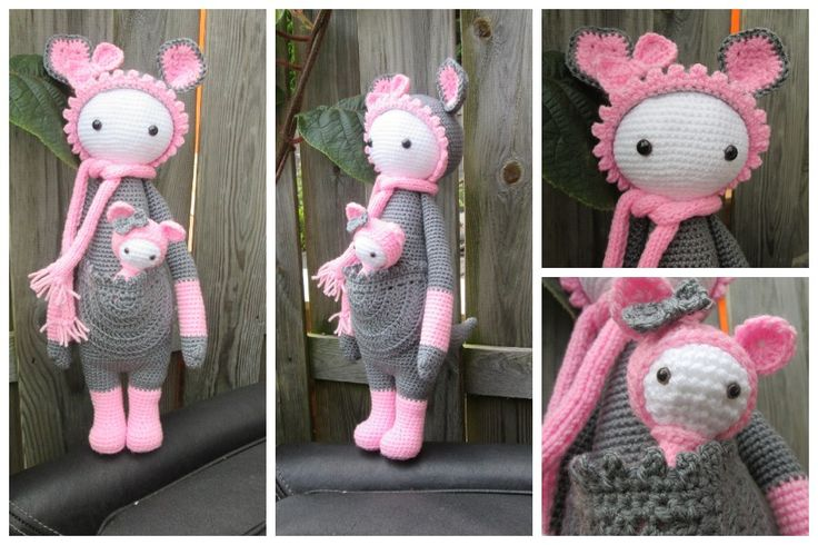 Crochet Amigurumi Pattern Generator : KIRA the kangaroo made by Marion M. / crochet pattern by ...