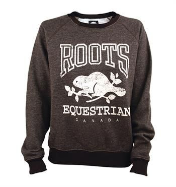 Roots Equestrian Crew Neck Sweatshirt