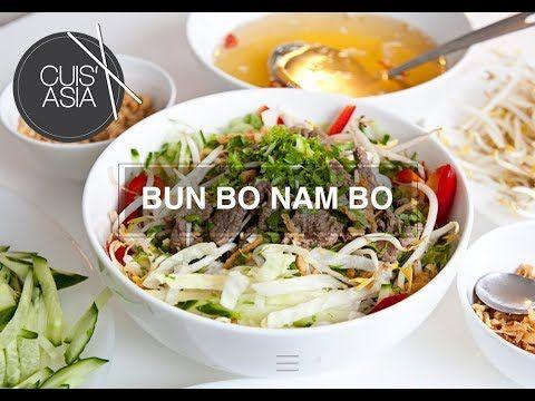 Vietnamesisches Bun Bo Nam Bo - Cuis'asia - Foodblog