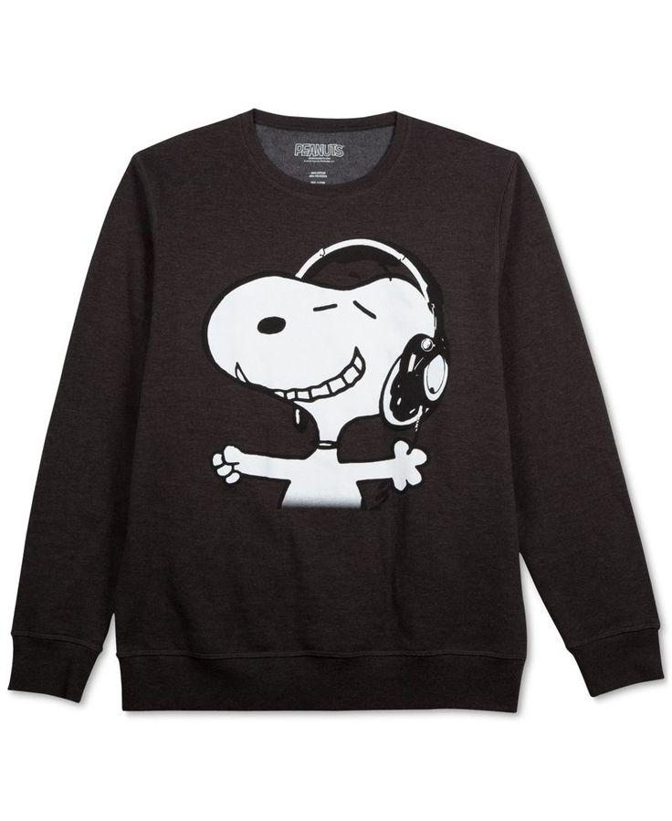 Jem Peanuts Snoopy Headphones Long Sleeve Fleece