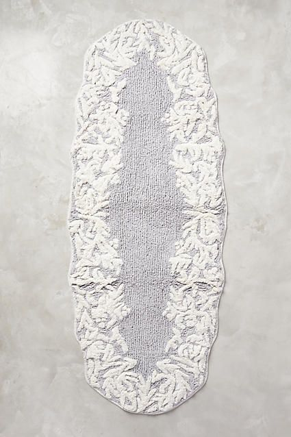 Anthropologie EU Philippa Bath Mat  Add an elegant  vintage inspired touch to bathing spaces with the intricate motif of this tufted cotton bath mat. 1000  ideas about Farmhouse Bath Mats on Pinterest   Cottage style