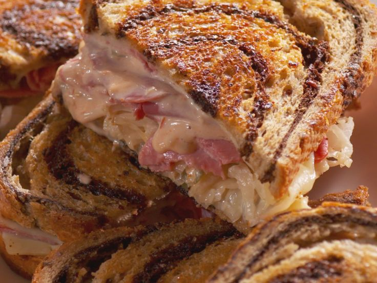 Hot Pressed Reuben recipe from Nancy Fuller via Food Network