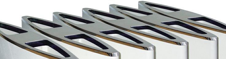 Detail of Othello Zenith #home #radiator #design #aluminum #interiordesign