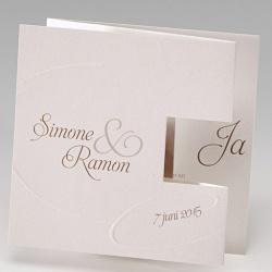 Trouwkaarten - Kaartinformatie - Belarto Romantic wedding - 723144